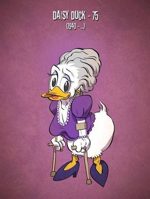 What Famous Cartoon Characters Would Look Like if They Actually Aged - ViralDire.com