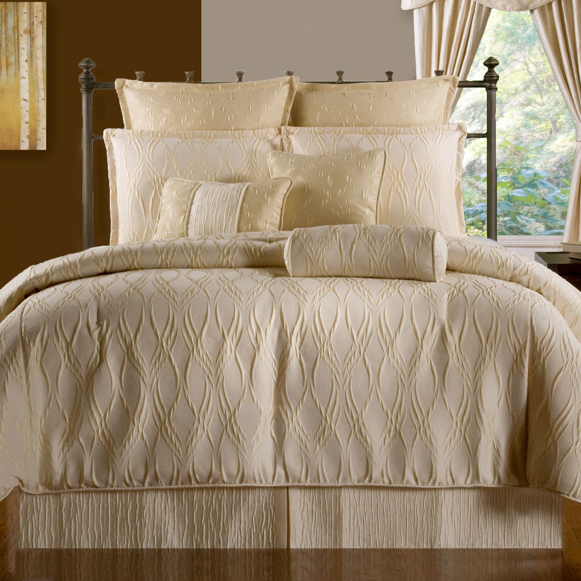 Sonoma Light Cream Comforter Bedding Cream Comforter