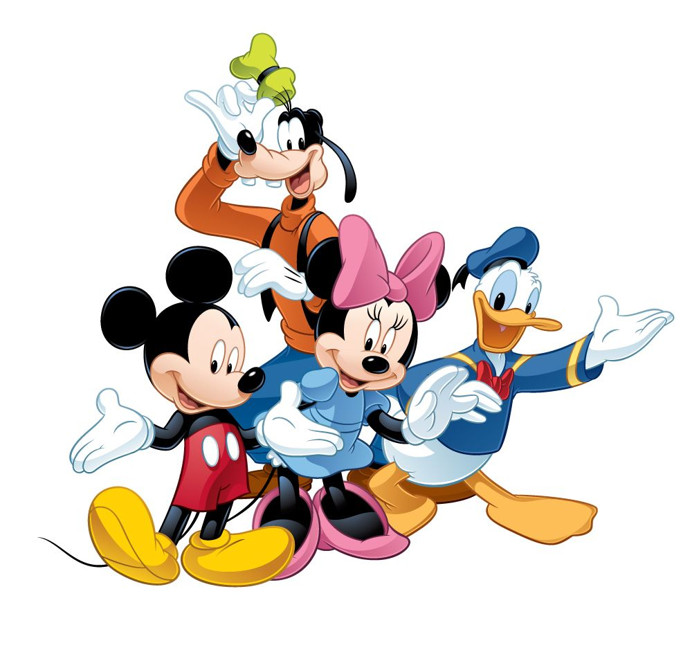 Cartoon 5 Characters : Disney characters clipart best pinterest