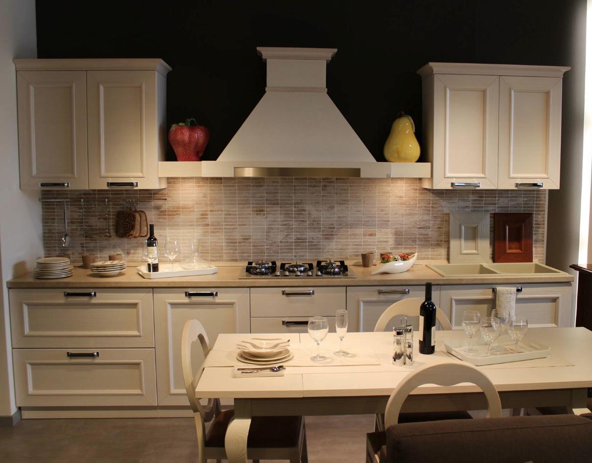 Cucina Stosa modello Montecarlo color panna | Kitchen | Cucine ...