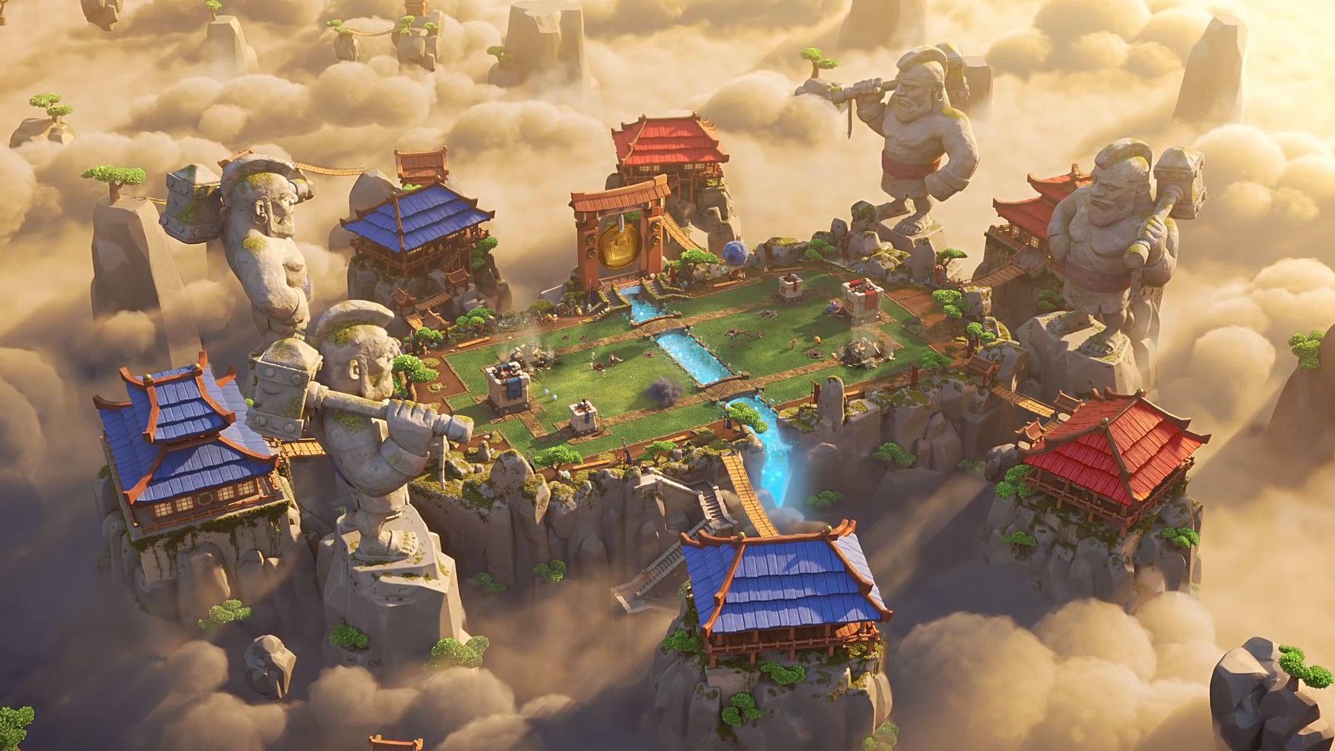 Clash Royale Legendary Arena 1080p Quality Wallpaper Clash Of