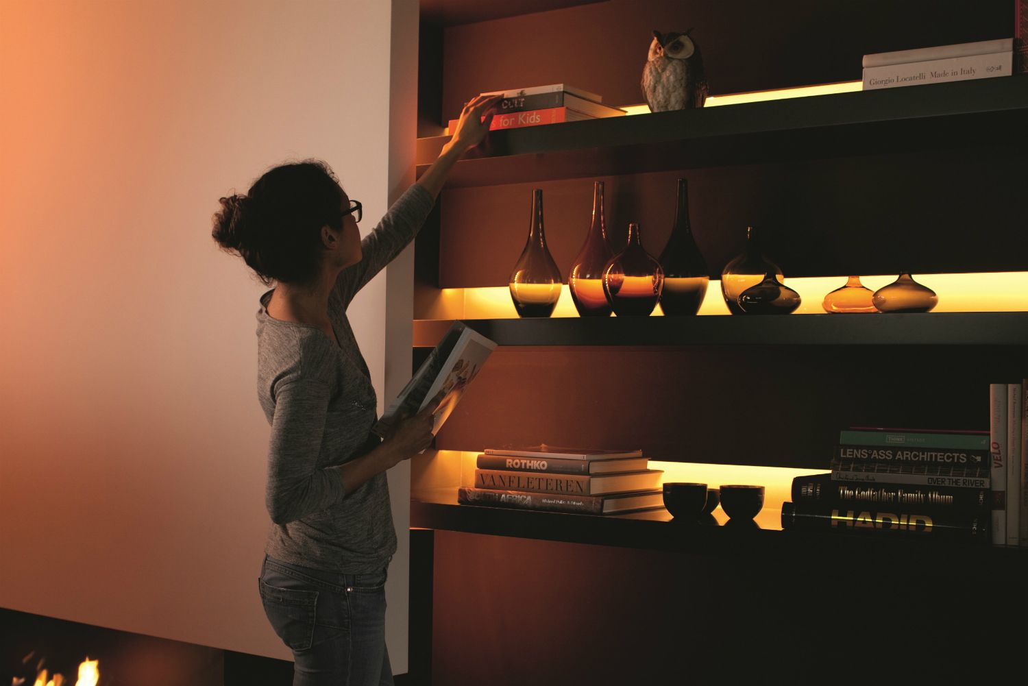 Philips New Hue Lightstrip Plus Is Bright Enough To Replace Bulbs Hue Philips Phillips Hue Lighting Hue Lights