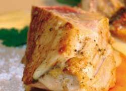 Filet de veau infusé au lait saveur Tonka, chips de patate douce