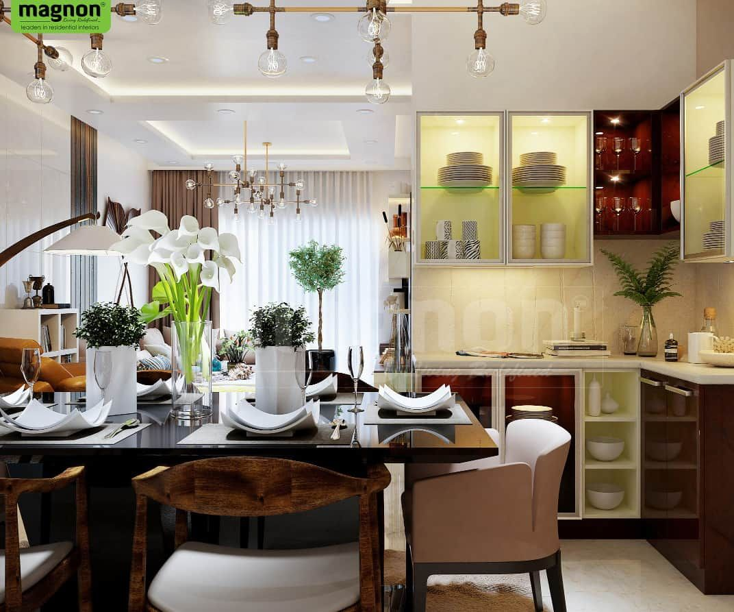 Crockery Units Luxury Interior Designers In Bangalore Magnon