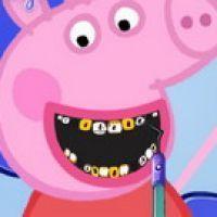 Peppa Pig Dental Care,Baby games,k7x.com,free online games