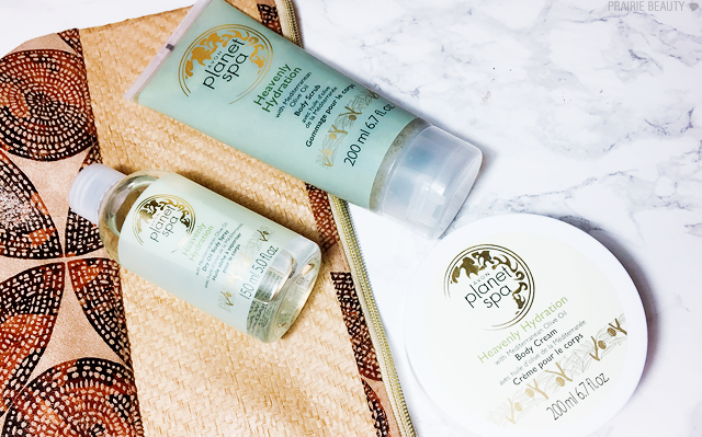 REVIEW Avon Spa Heavenly Hydration Body Products