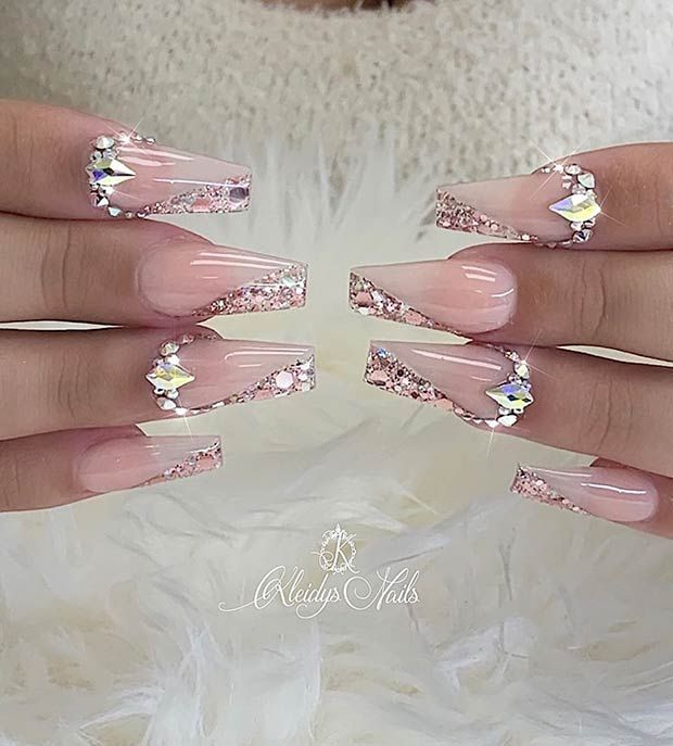 21 Cute Coffin Nails You'll Fall in Love With | Pa