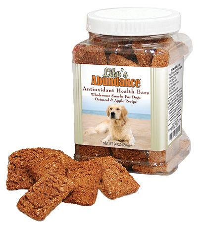 Life S Abundance Antioxidant Health Bars Wholesome Snacks For Dogs Oatmeal Apple Recipe For More Information Ple Healthy Pet Food Health Bar Food Animals