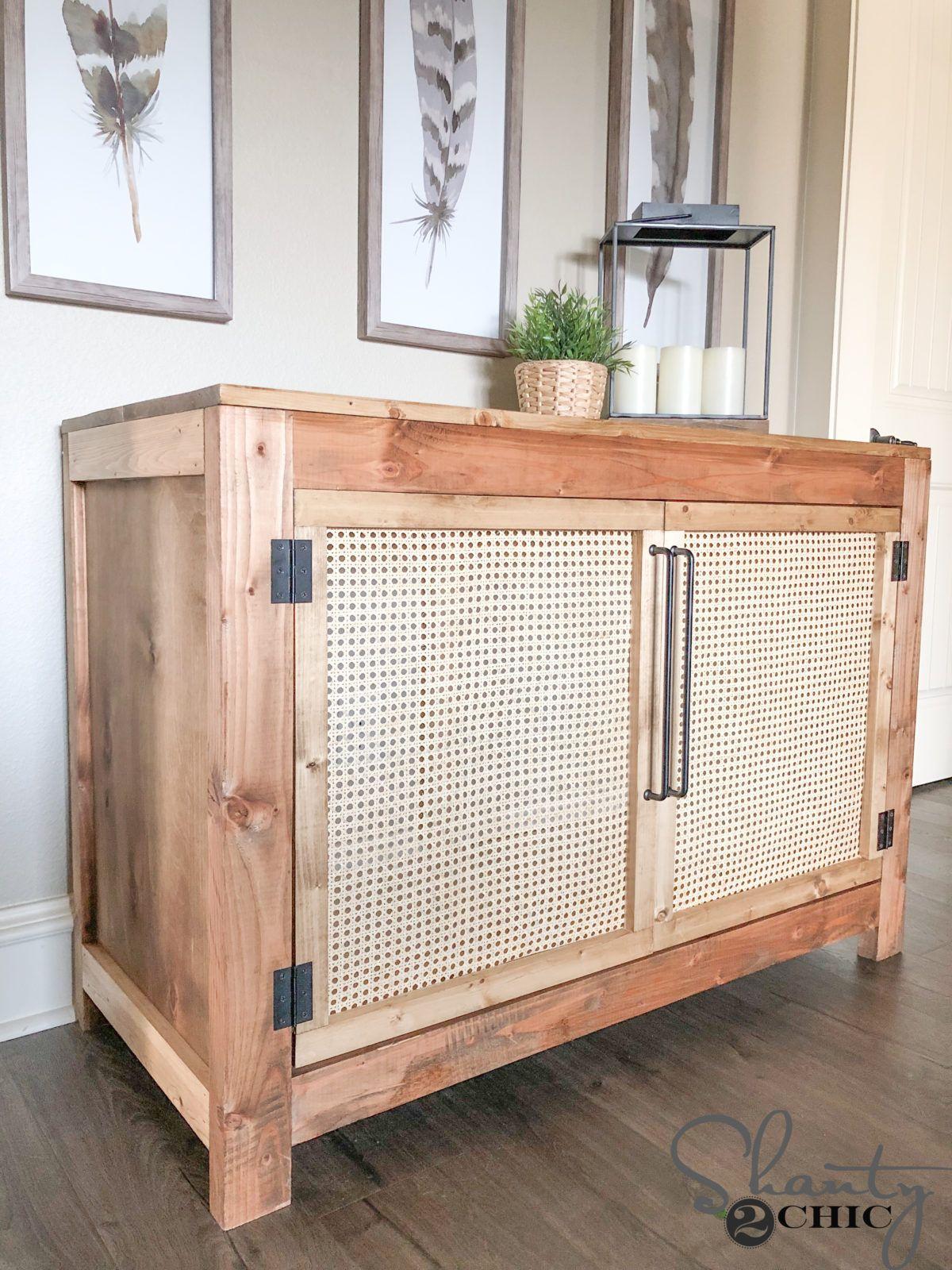 Diy Cane Cabinet Free Plans Free Furniture Plans Wood Furniture Diy Wood Furniture Plans