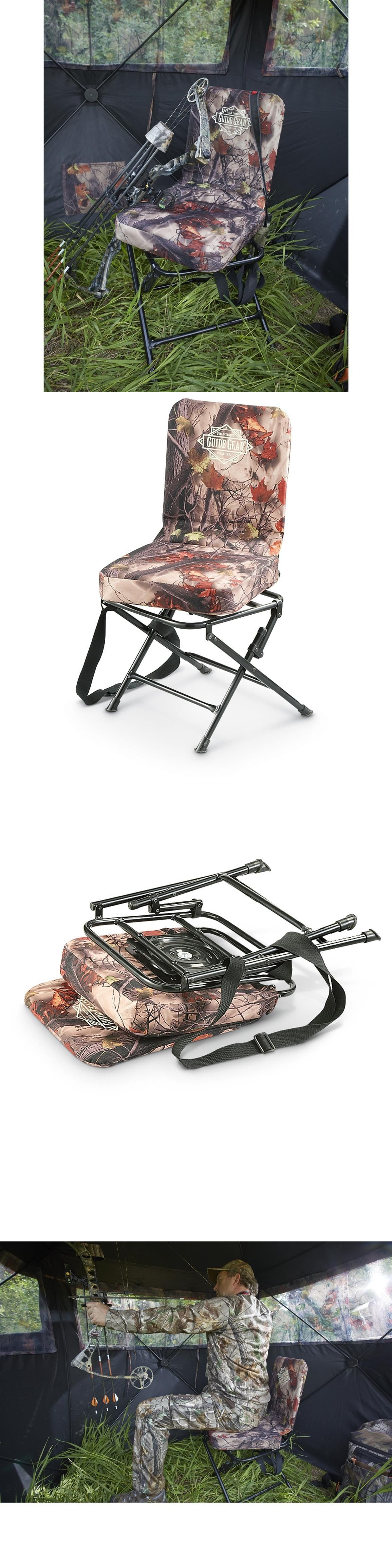 Seats and Chairs Hunting Gear 360 Swivel Hunters Camo