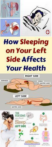 #Affects #health #Left #Side #Sleeping How Sleeping On Your Left Side Affects Your Health!!!  #lifeh...