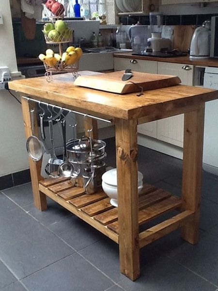 Create A Butcher Block Wooden Countertop Using 19 22mm Or 32mm Thick Par Pine Planks Diy