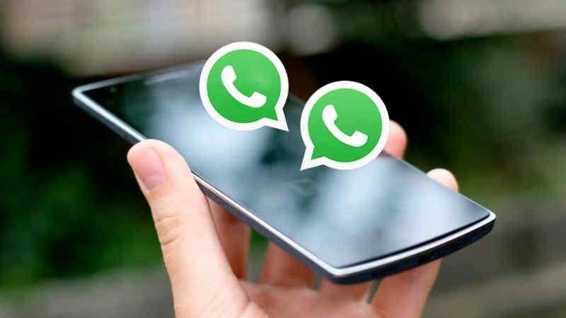 Cara Install Dan Menggunakan 2 Akun Whatsapp Di Android Android Aplikasi Ikon