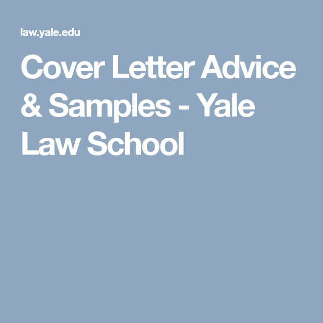 Cover Letter Advice Samples