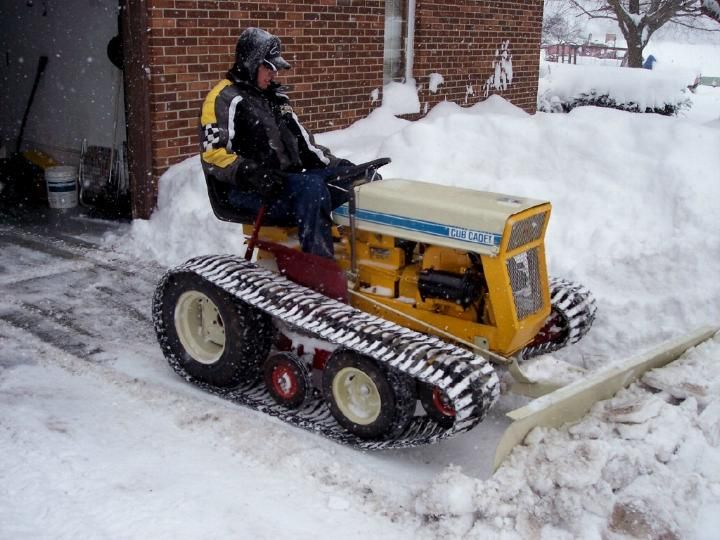 Garden Tractor Track Drive Kit : Cub cadet snow blower with tracks track g