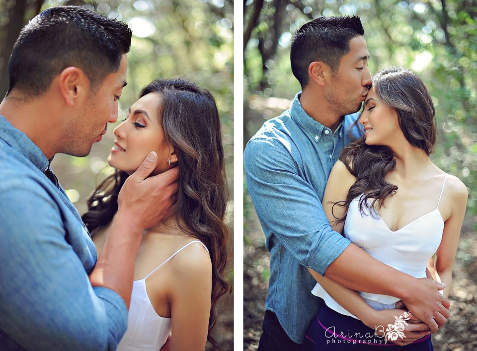 This Couple Channeled Iconic Movie Pairs for Their Engagement Photos