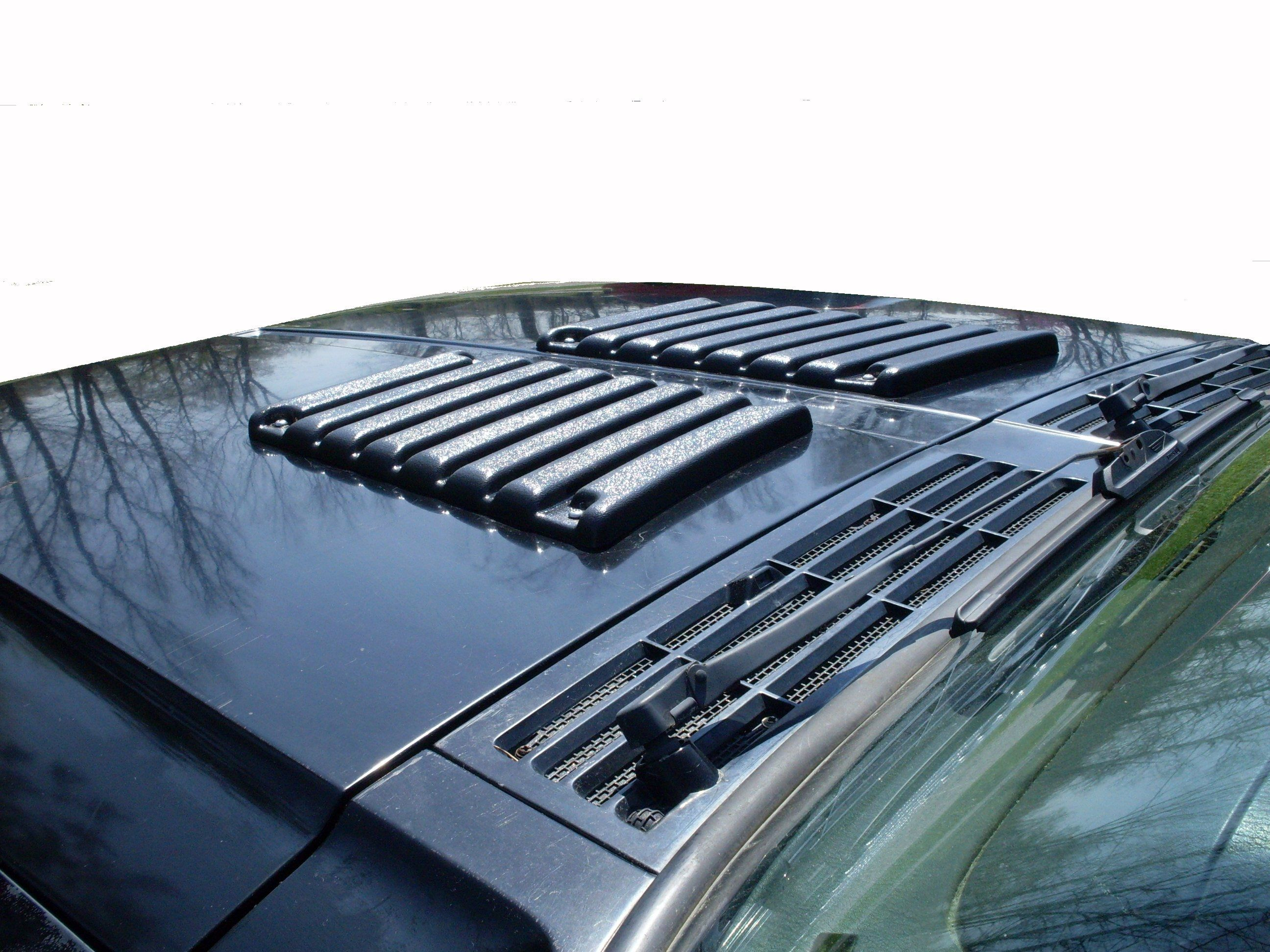 Manufacturer Napier Precision Products Hood Vents Help Keep Rain