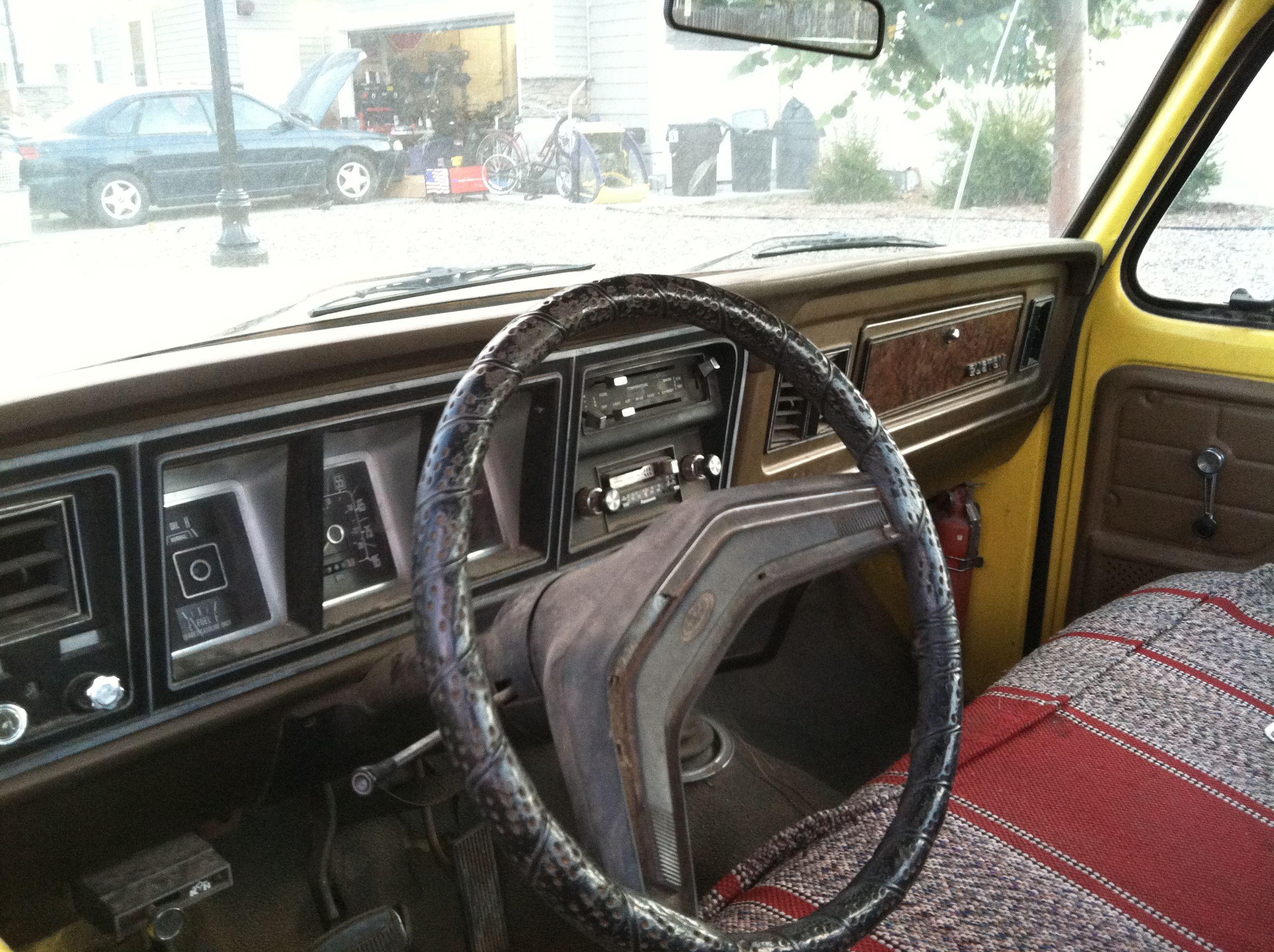 79 Ford F250 Interior
