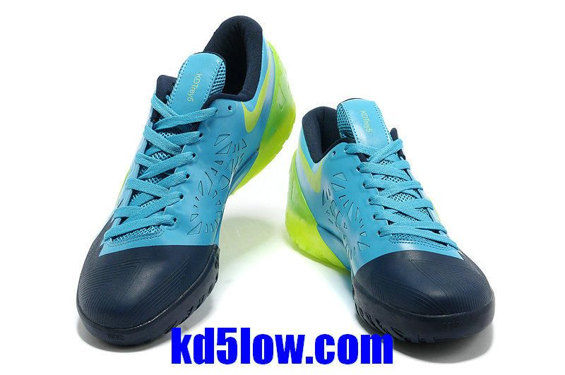 check out bdbae 16ded KD Trey 5 Glacier Blue Green Volt Kevin Durant Basktball Shoes