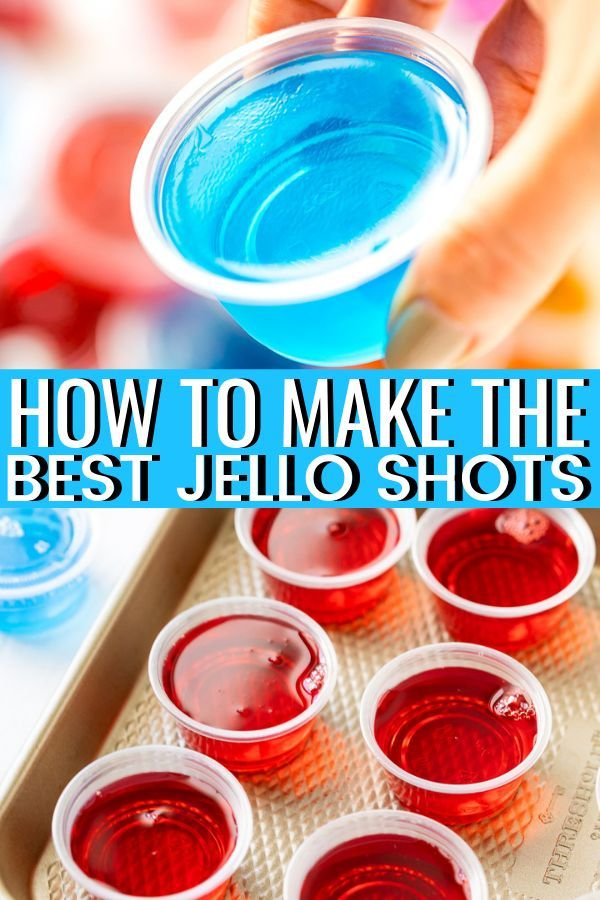 How To Make Jello Shots | Sugar and Soul