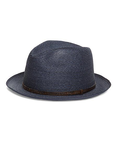 Men's Biltmore Straw Hat with Leather Band