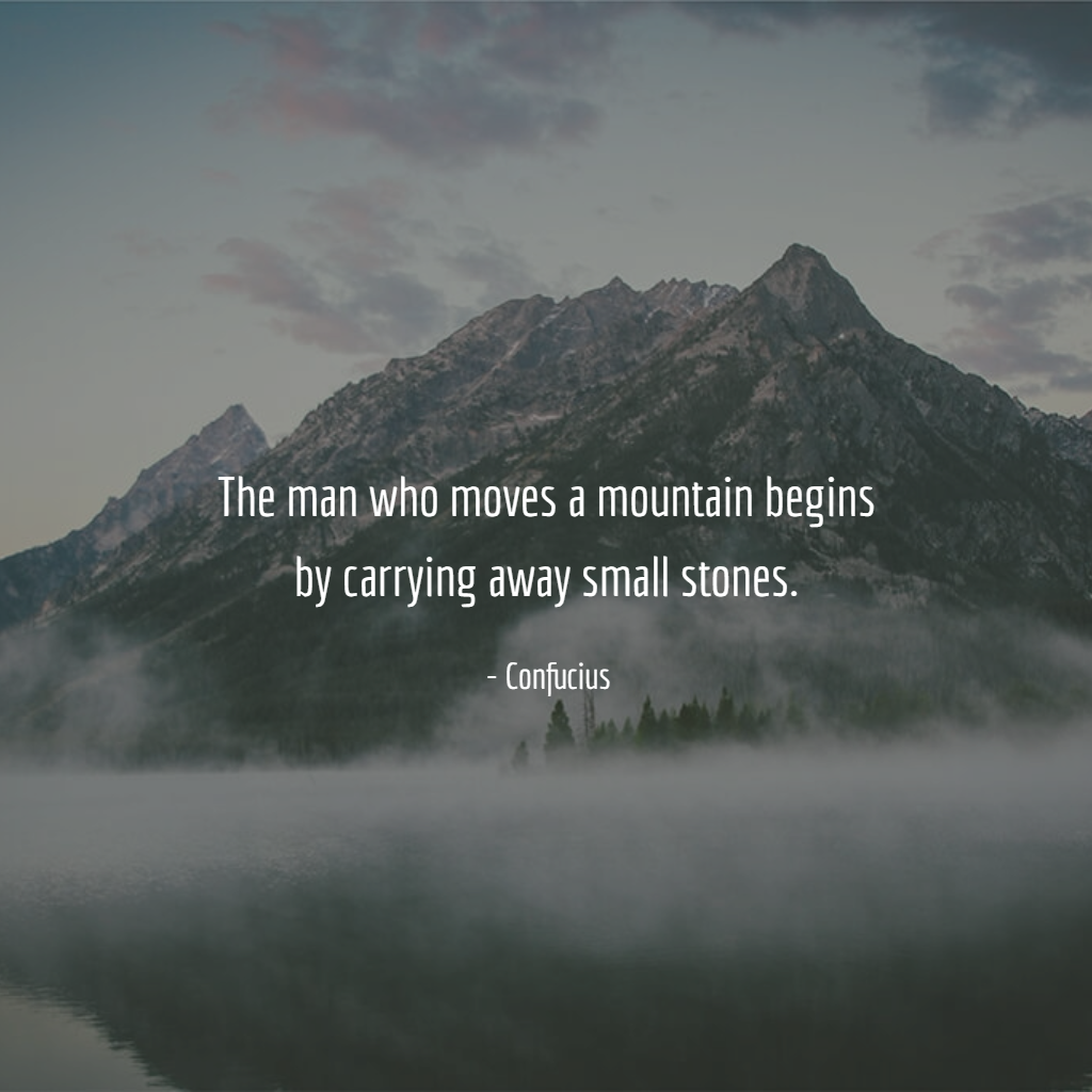 Motivation #inspiration #quote #confucius #mountain # ...