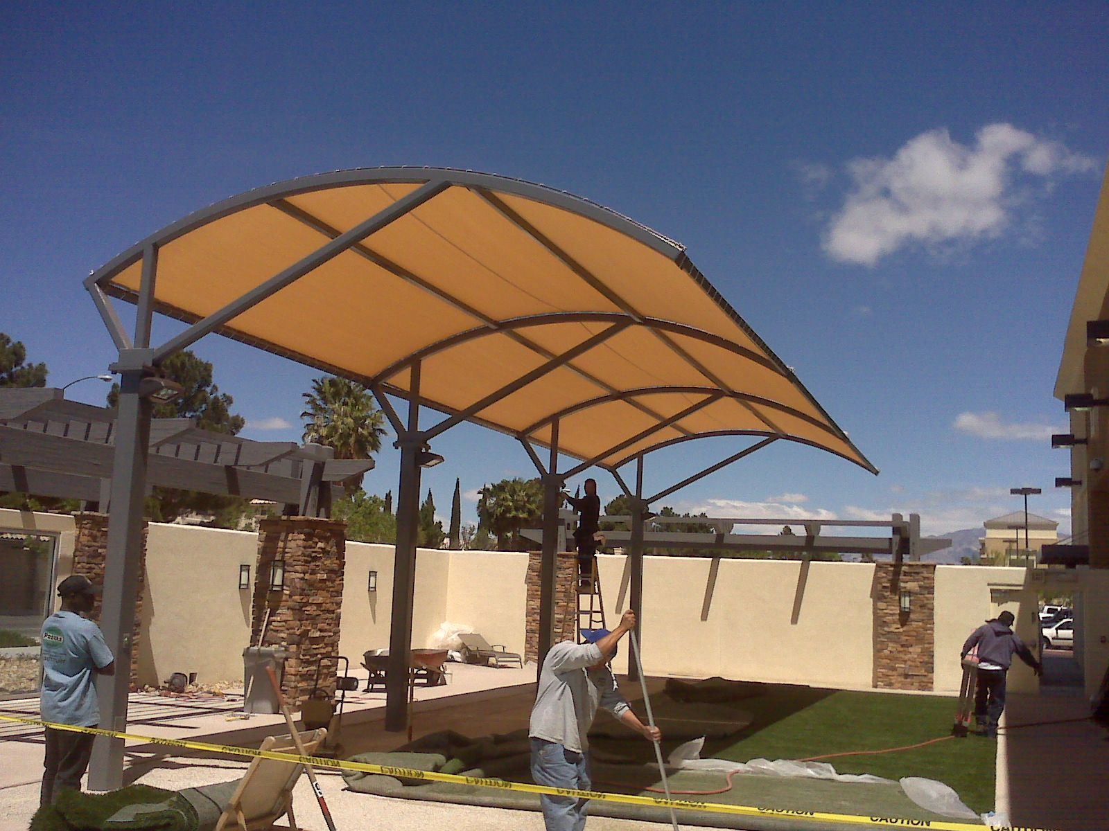 School canopies gazebo schools canopy shade shelter types for Outdoor kitchen roof structures