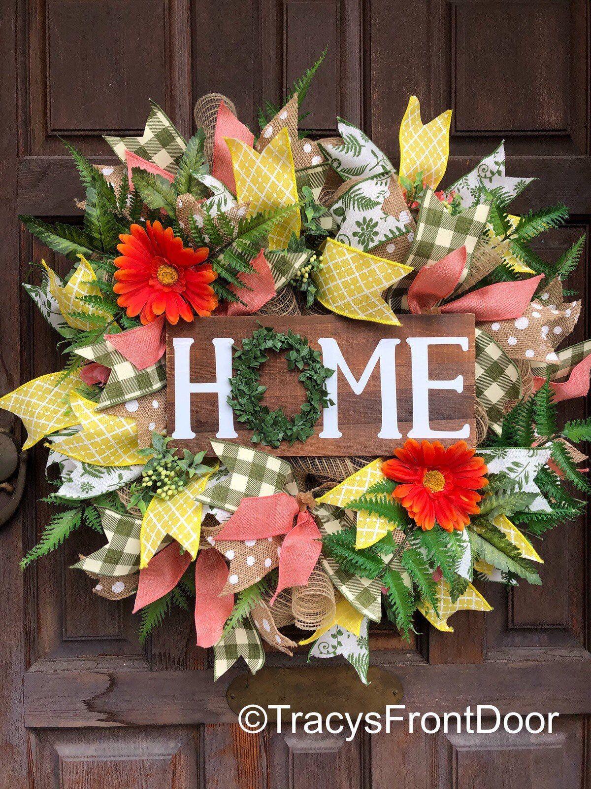 Photo of Everyday Wreath, Home Wreath, Front door Wreath