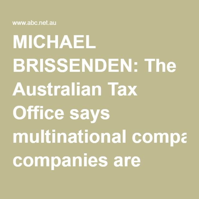 """MICHAEL BRISSENDEN: The Australian Tax Office says multinational companies are actively trying to circumvent tough new laws on tax avoidance introduced at the beginning of this year.  The ATO says it's now reviewing new """"profit shifting"""" and """"thin capitalisation"""" arrangements designed to avoid paying tax on profits made in Australia.  The ATO's deputy commissioner Jeremy Hirschhorn is speaking with our business editor Peter Ryan."""