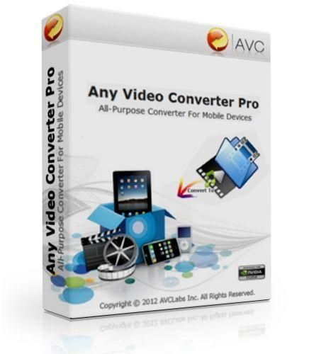 Download Any Video Converter Professional 5 7 8 With Key Video