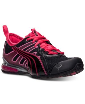 5807fea8824f Puma Women s Voltaic 4 Fade Running Sneakers from Finish Line - BLACK PINK  5.5