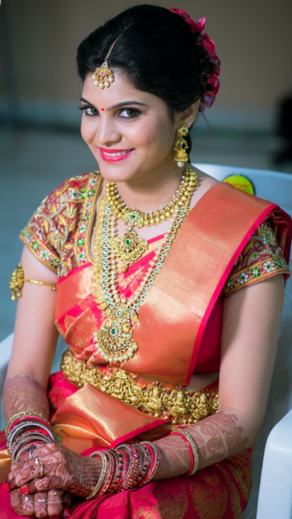Pin by Pasupathy A on Wedding bride in 2019 Saree