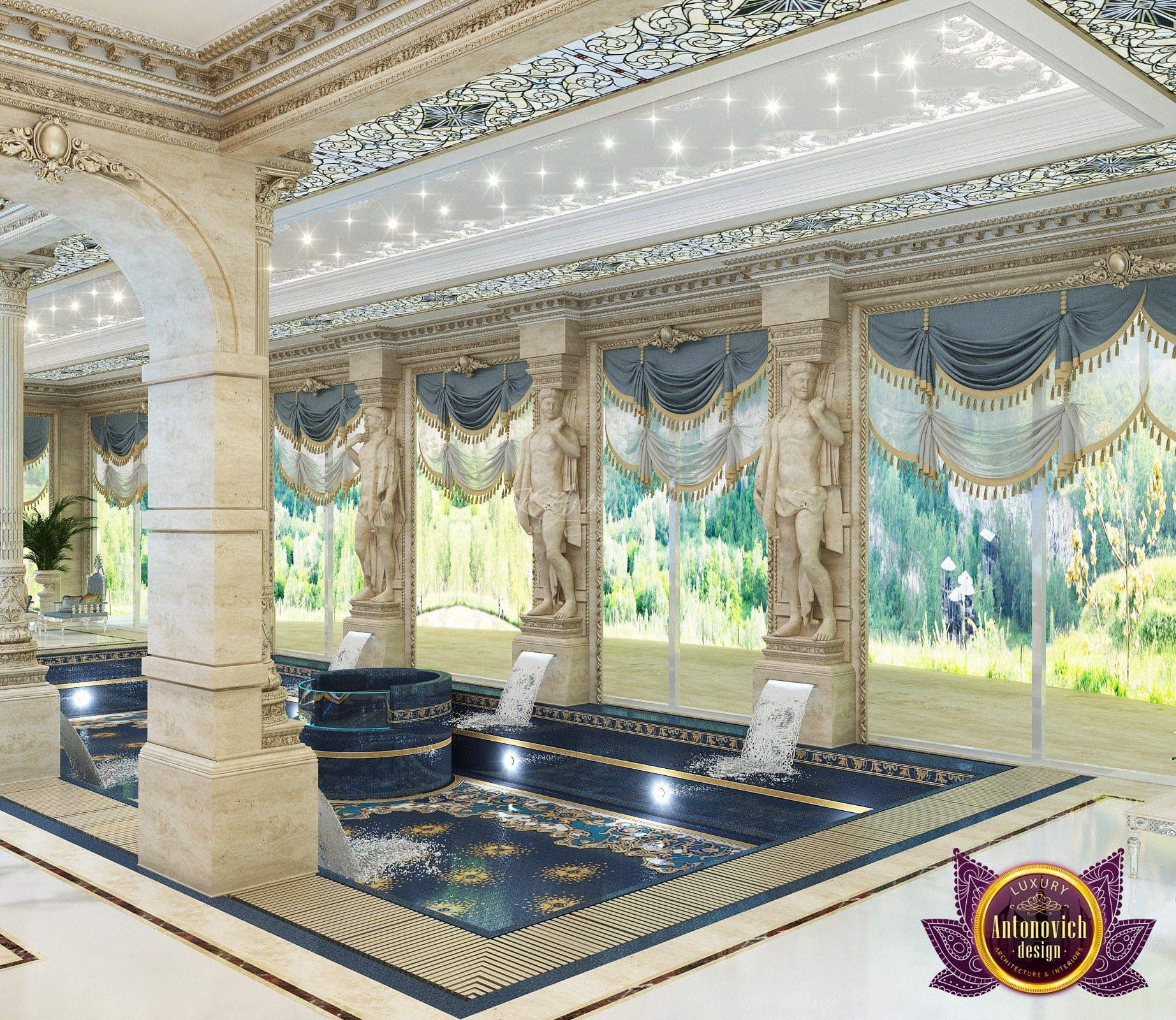 Luxury Pool House Interior: Luxurious Villa Design In Cambodia