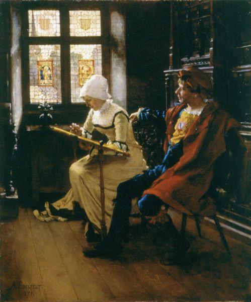 Tyttö ja Sotilas (1879)