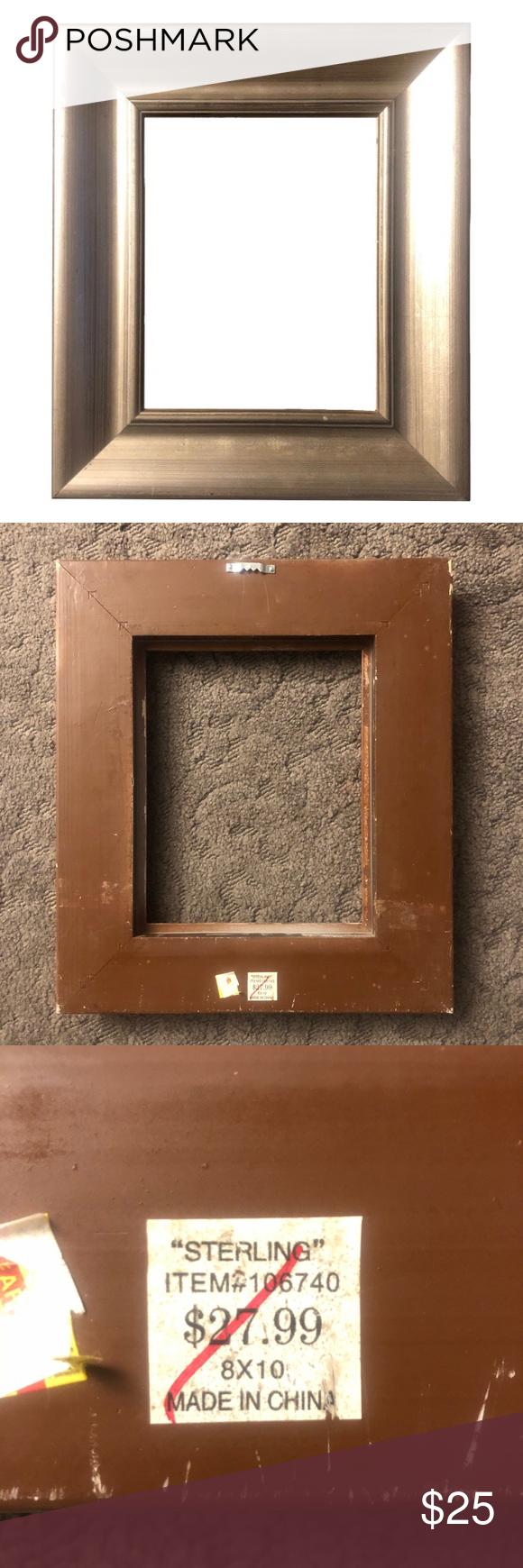Sterling 8 X10 Open Back Frame For Wall Art In 2020 Hobby Lobby Wall Art Frames On Wall Frame