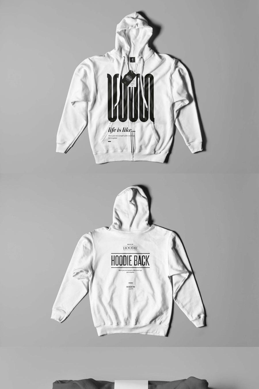 Download Hoodie Mock Up 2 Mockup Mocking Hoodies