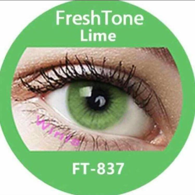 Color Contact Lenses. FreshTone . Made in Korea. Monthly Lenses. Case Includ...
