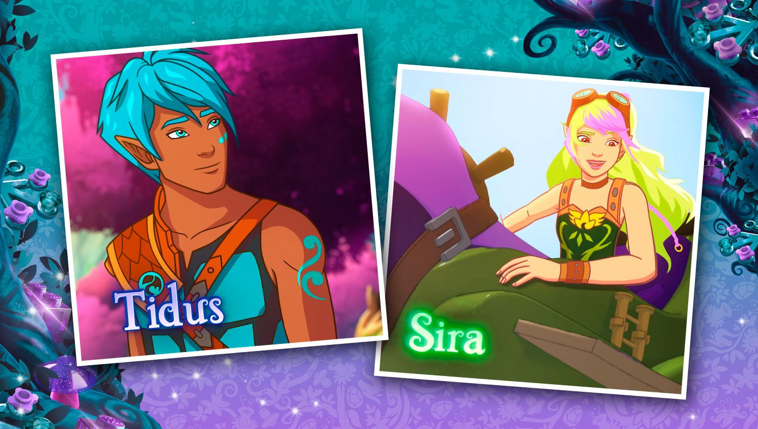 Lego 174 Elves Introducing Tidus And Sira Lego Friends