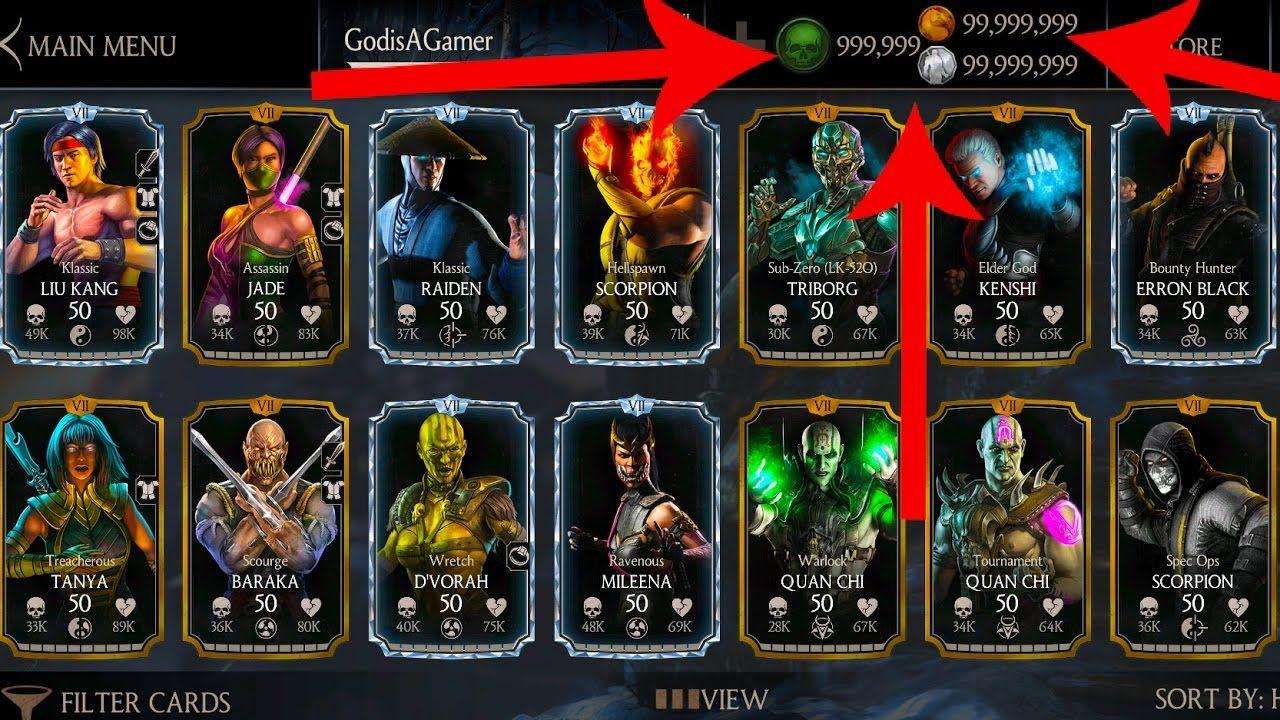 Pin Op Mortal Kombat X Hack 2018 Updated