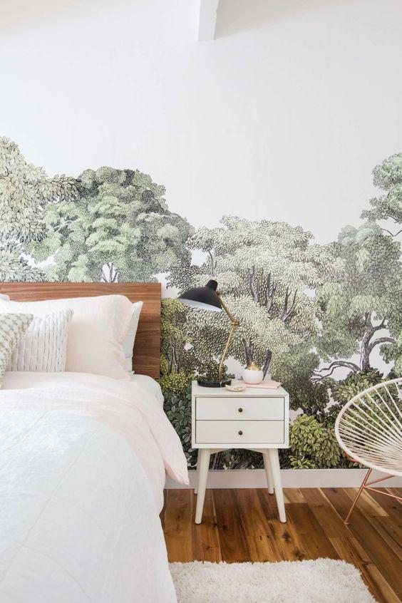 12+ Idee papier peint chambre adulte inspirations