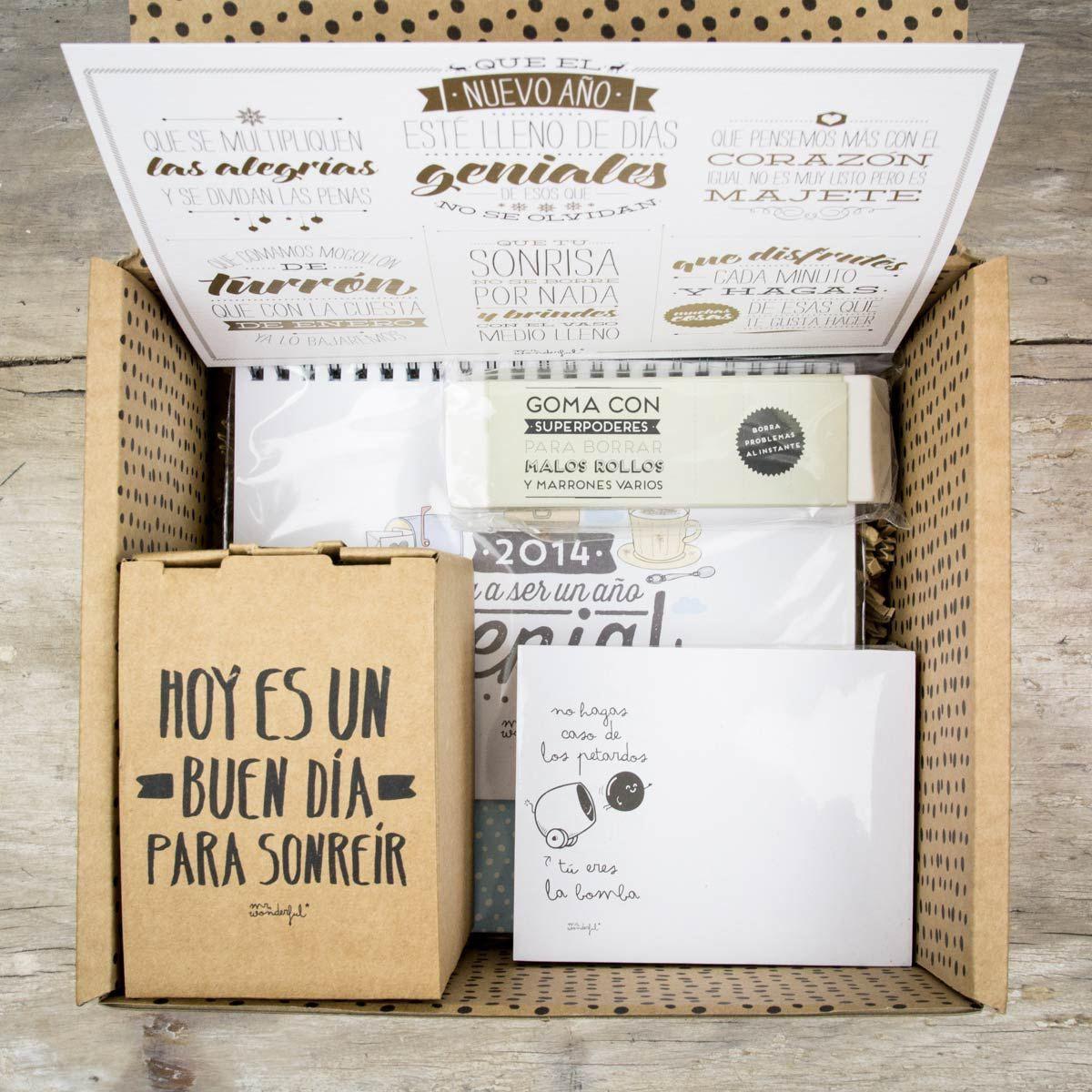 Kit_para_que_el_nuevo_a O_este_lleno_de_dias_geniales_09 Gifts  ~ Regalos Originales Amigo Invisible Hechos A Mano