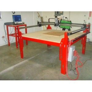 New 5x10 M4 Cnc Plasma Router Table From Lightning Cnc Complete