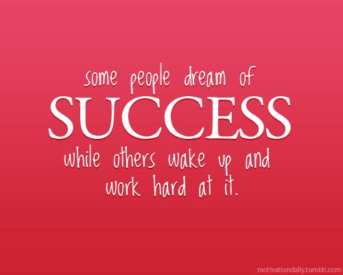 """""""Success"""""""