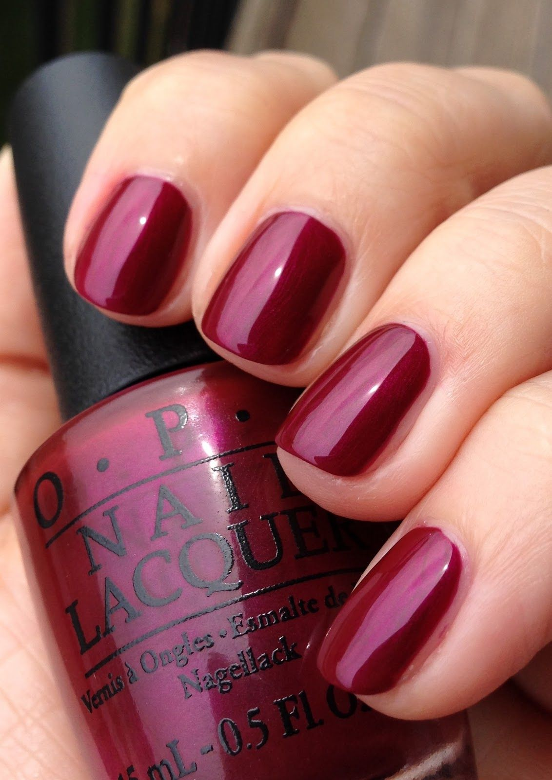 Opi Deep Purple Nail Polish Health Beauty Fall Honk If You Love