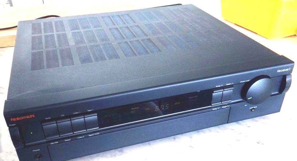 Nakamichi Receiver 1 Amplifier AM/FM Stereo Receiver tested