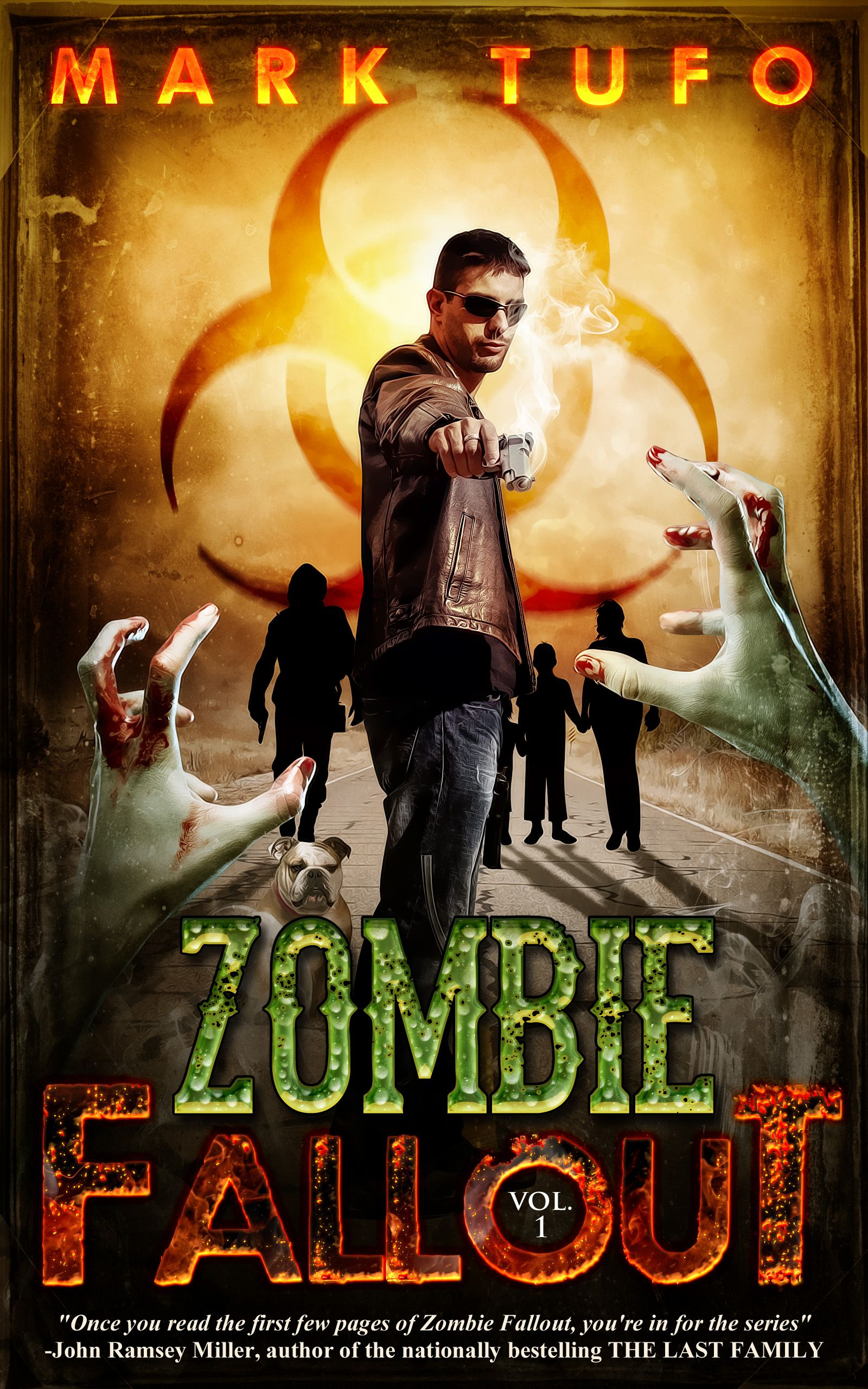 promocave Books Zombie Fallout by Mark Tufo