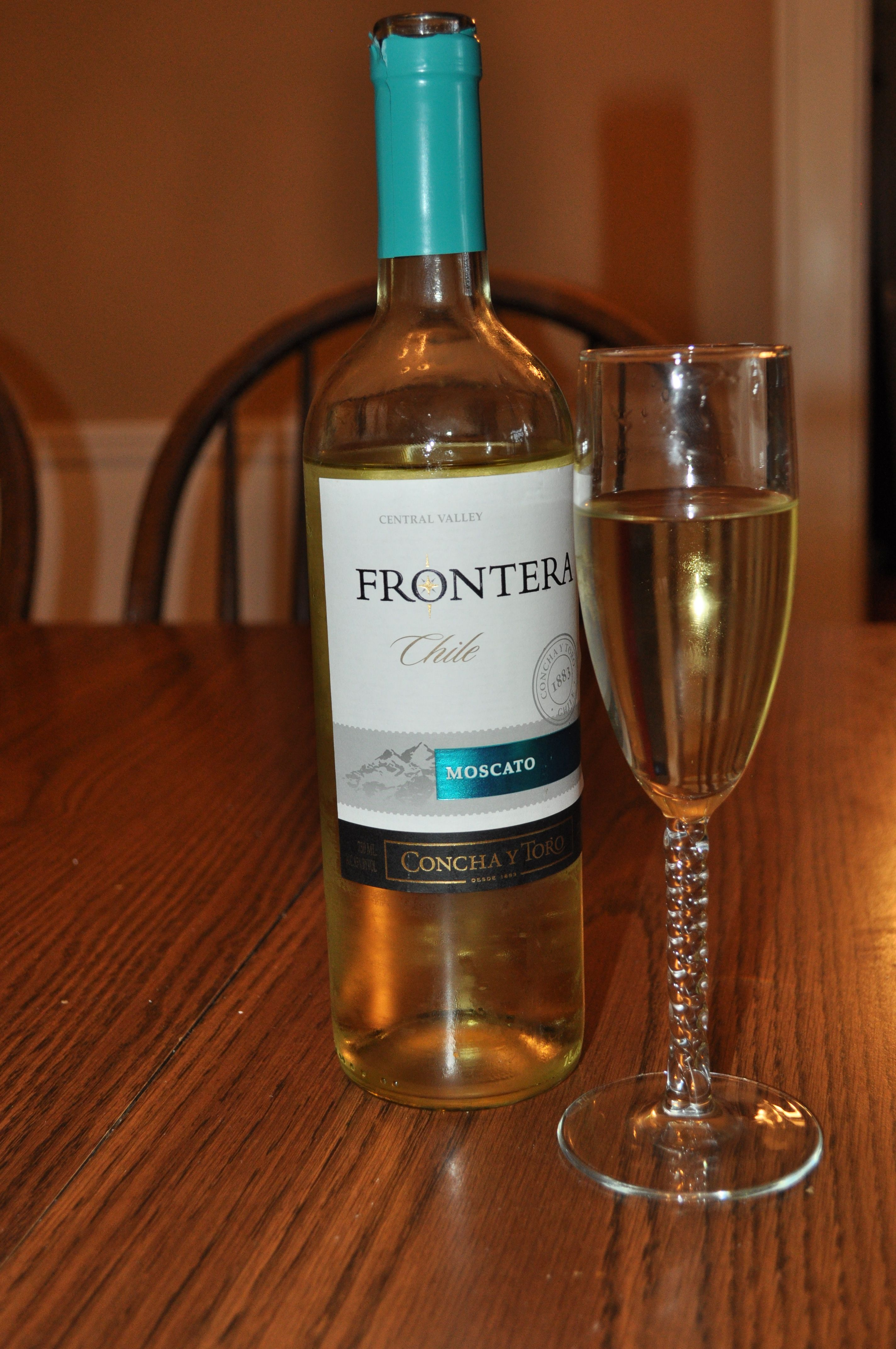 MMM Moscato wine- Frontera brand only $5 at Kroger! I got to try it ...