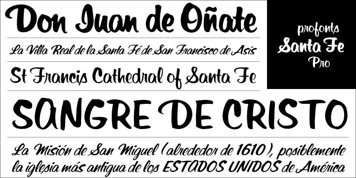 Santa Fe Pro - Webfont & Desktop font « MyFonts   Fonts   Design