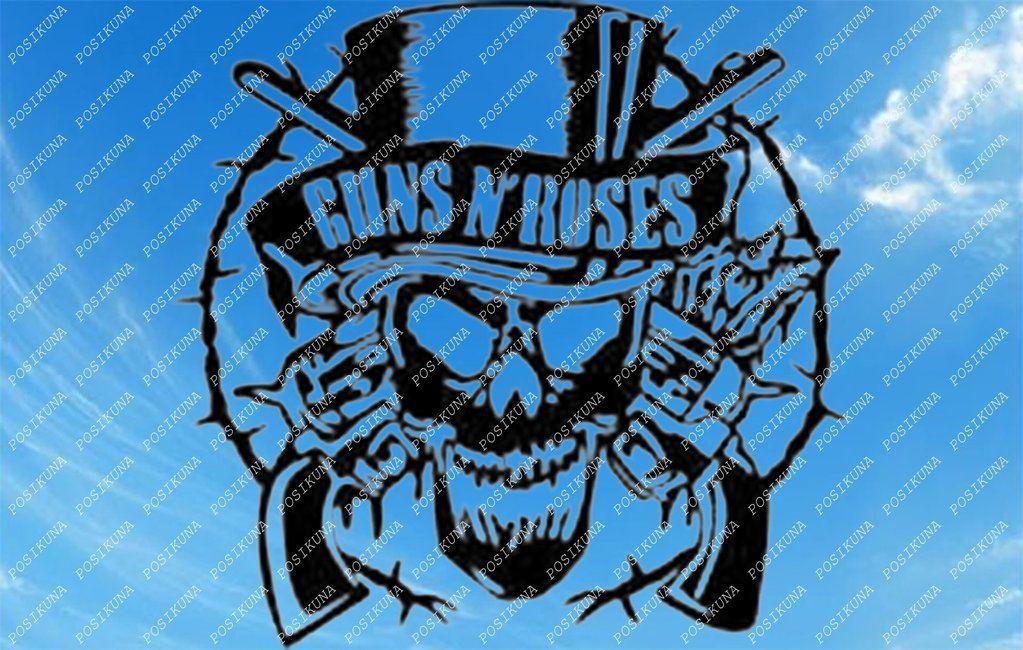 Guns and Roses Svg File -Guns'n Roses svg. - music Clipart ... (1023 x 650 Pixel)