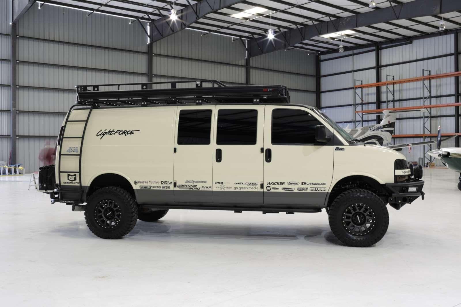 Chevrolet Express Roof Rack Weldtec Designs Chevy Express 4x4 Van Roof Rack